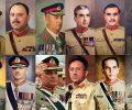 پاکستان میں فوجی سربراہان کی تاریخ